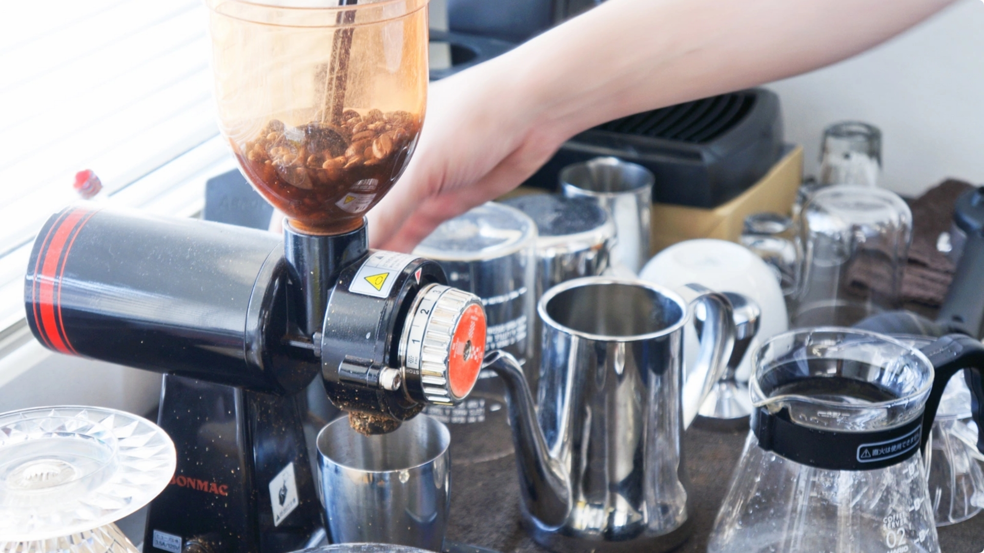 オフィスにあるコーヒーマシン