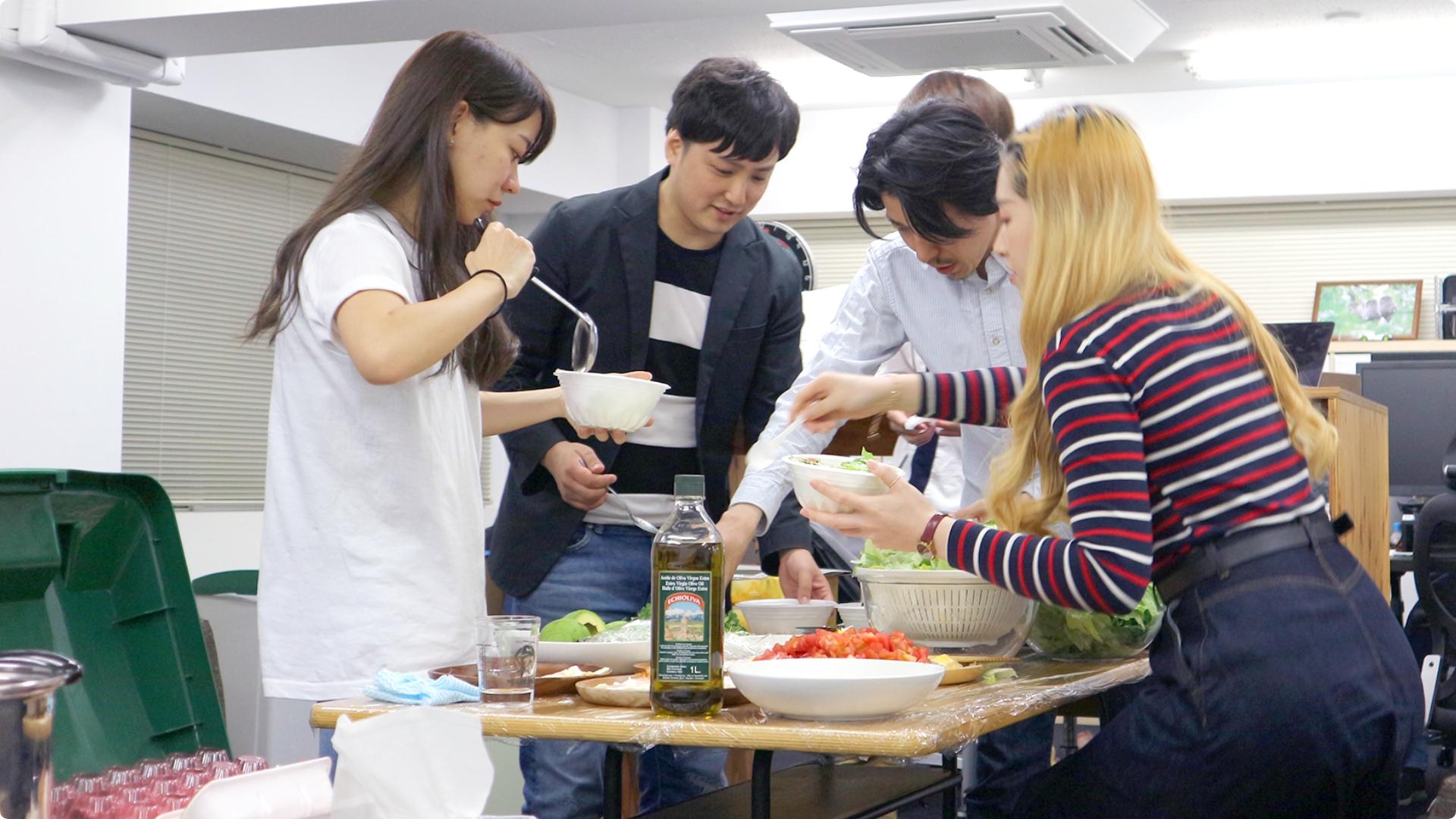 料理部のイメージ